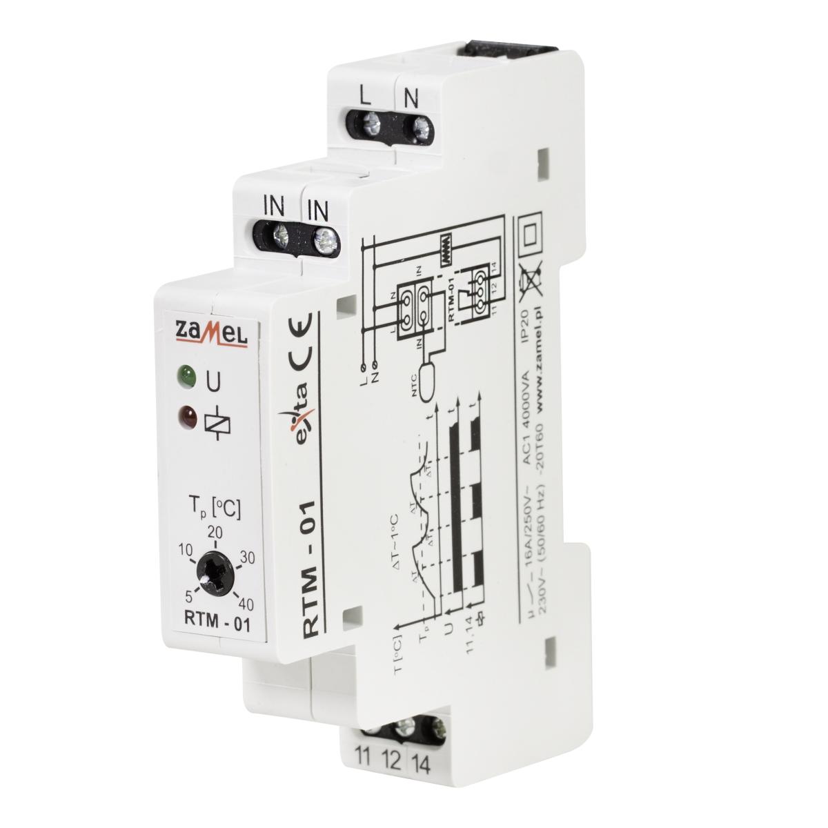 Regulator temperatury RTM-01