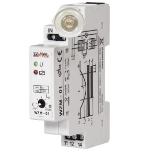 Wyłącznik zmierzchowy WZN-01/S1 służy do sterowania urządzeniami oświetleniowymi lub innymi odbiornikami energii w zależności od natężenia oświetlenia
