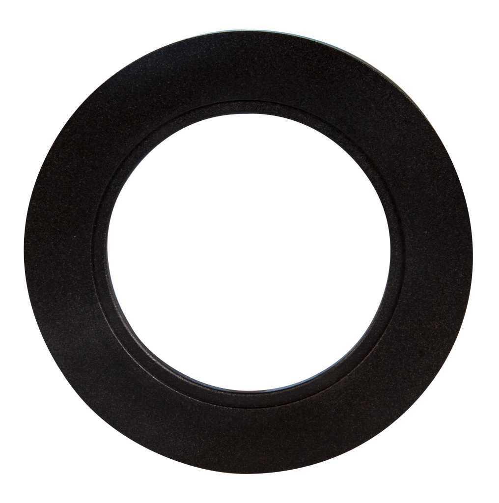 Ramka LED okrągła czarna