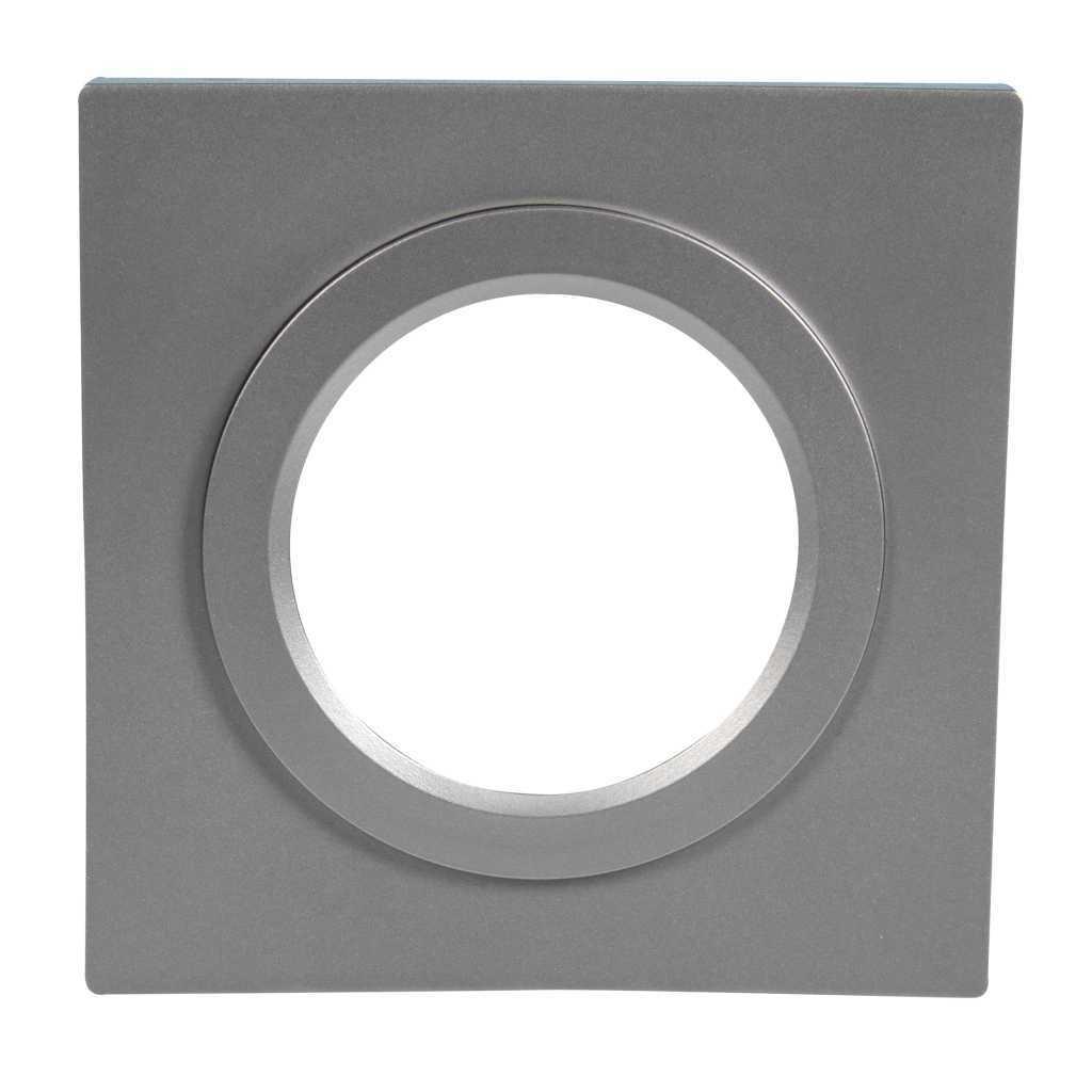 Ramka LED kwadratowa srebrna