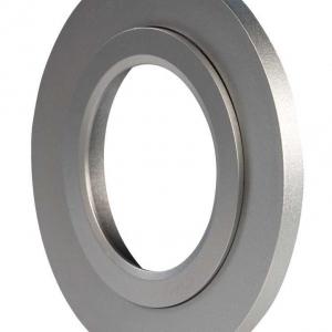Ramka LED okrągła srebrna