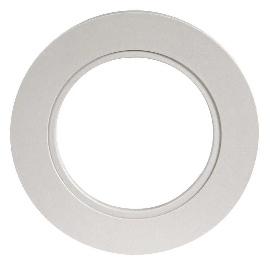 Ramka LED okrągła szara